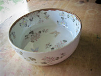 Asian Chinoiserie Butterfly Bowl - Rush Creek Vintage