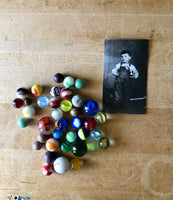 Set of 100 Vintage and Antique Marbles - Rush Creek Vintage
