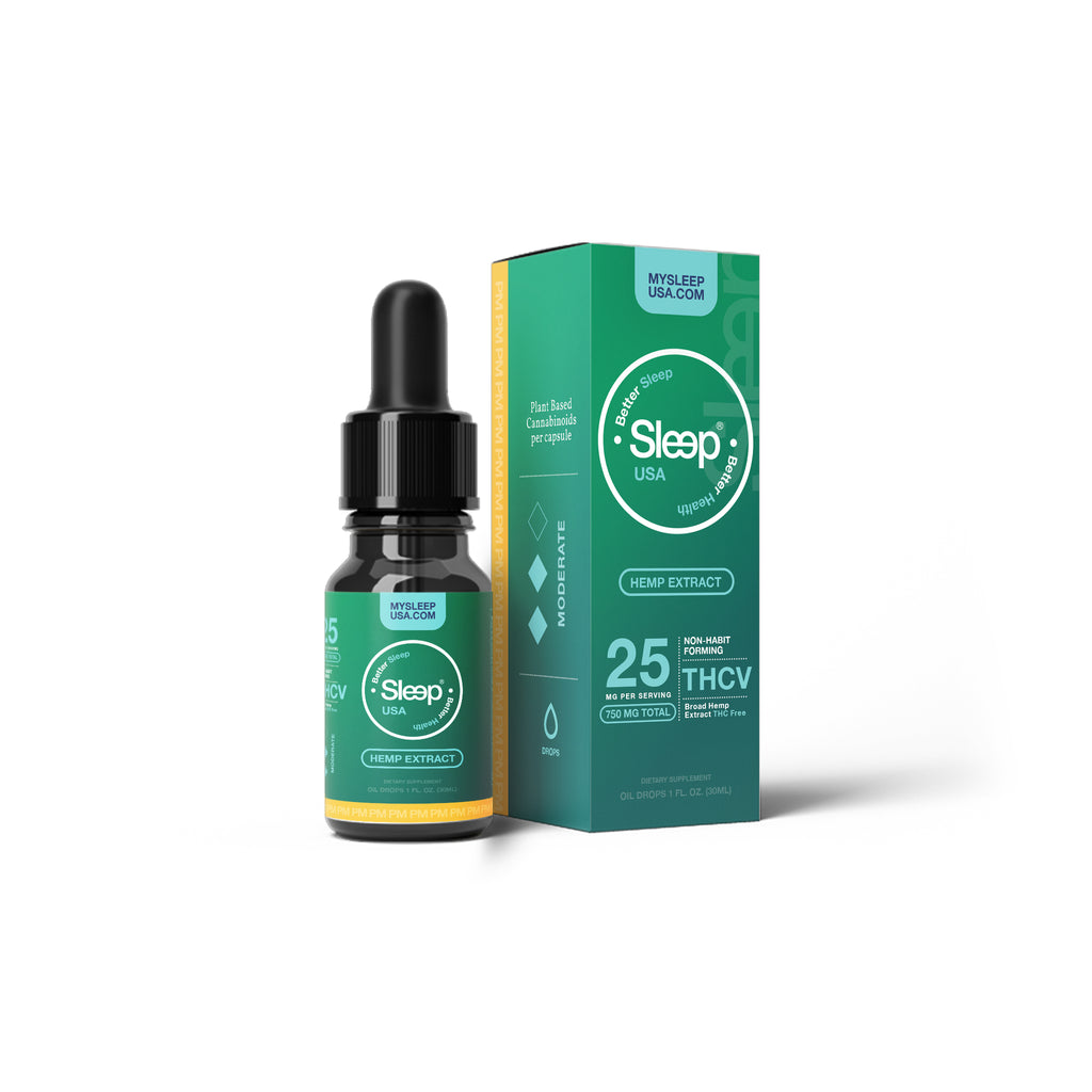 Coming Soon - AM - Fat Burning Sleep (THCv) Oil Drops - 30ml - 600mg