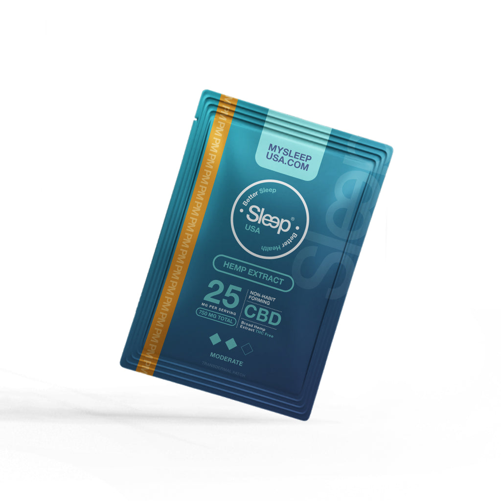 Coming Soon - PM - Max Sleep (CBD) Transdermal Patch - 7 Pack