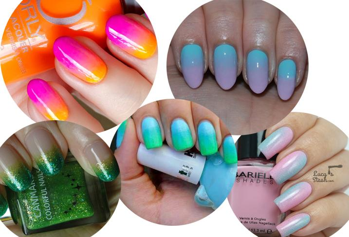 Beauty How to : Gradient Nails