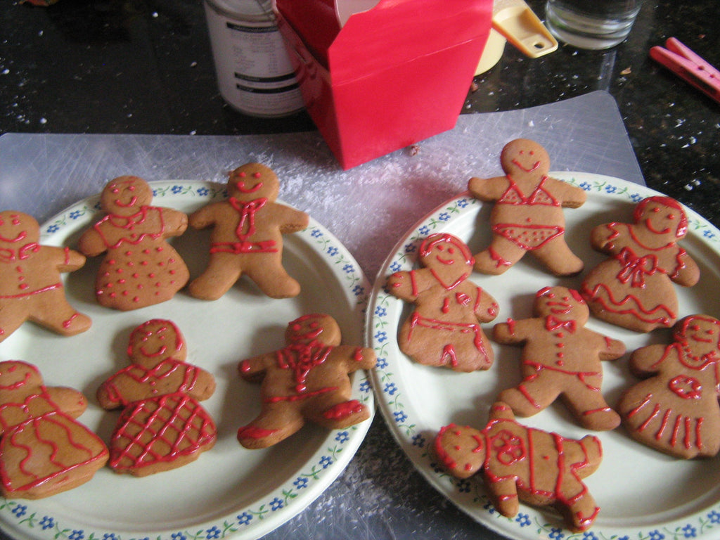 gingerbread babes