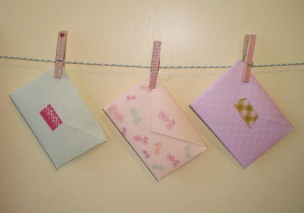 Super cute DIY Envelopes