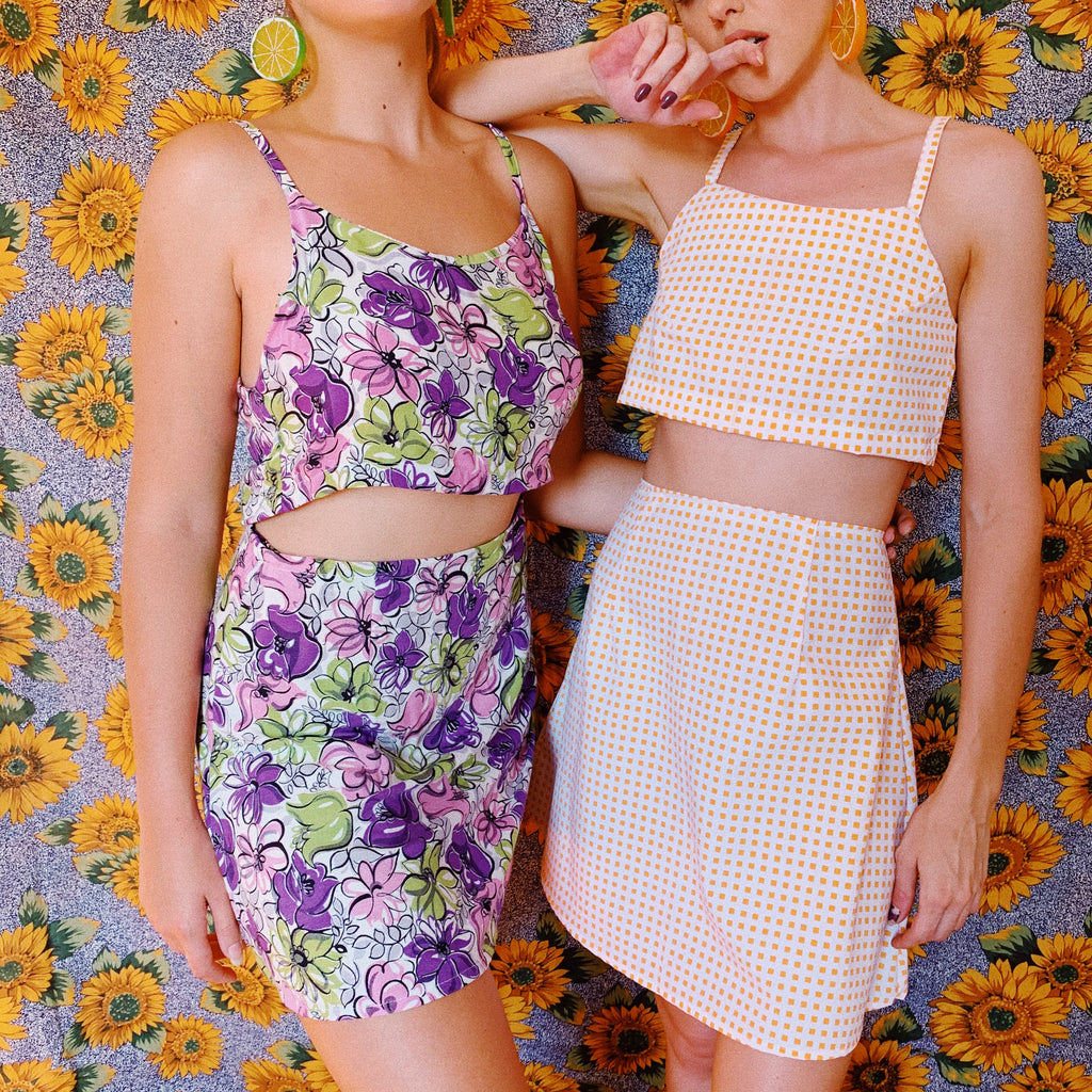 Tutti Frutti Crop & Skirt Set