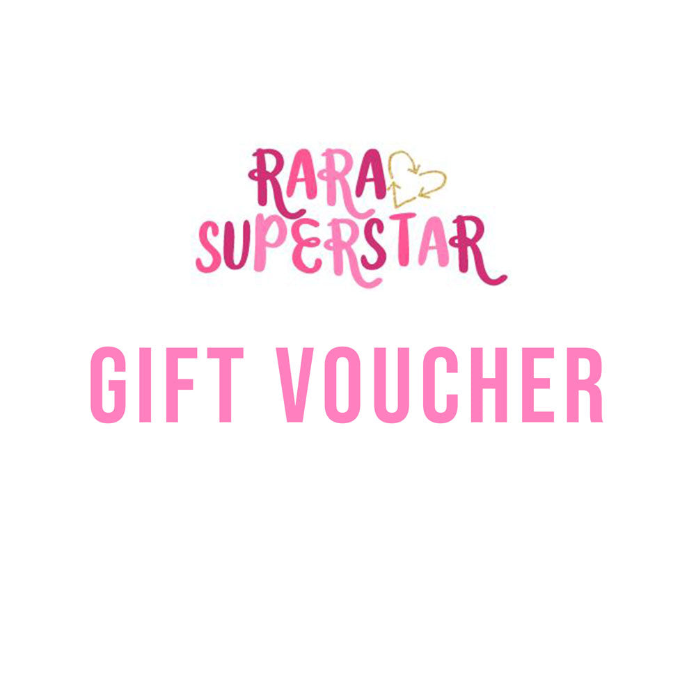 Ra Ra Superstar Gift Voucher