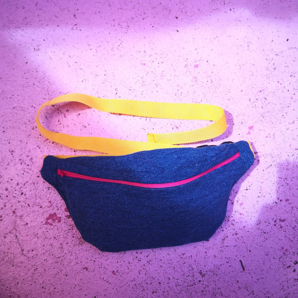 Upcycled Denim Bum Bag