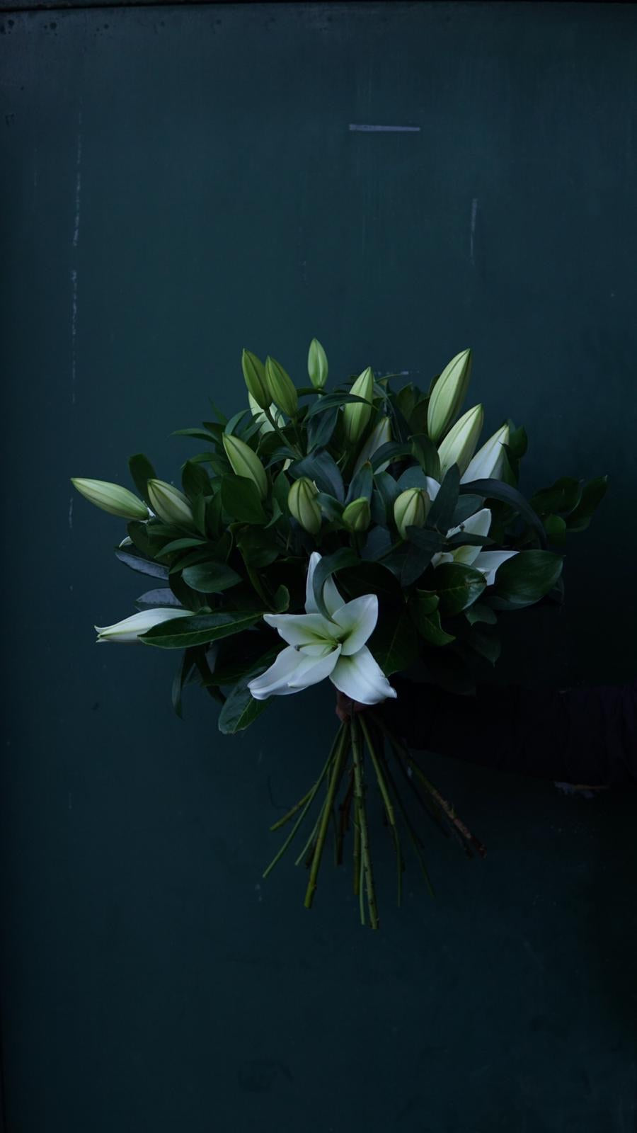 Hand-Tied Lily Bouquet