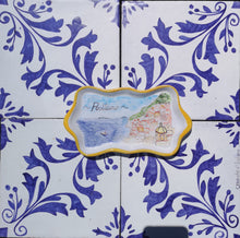 Load image into Gallery viewer, Hand painted ceramic tray