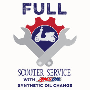 Full Service with Amsoil Synthetic  Oil Change*