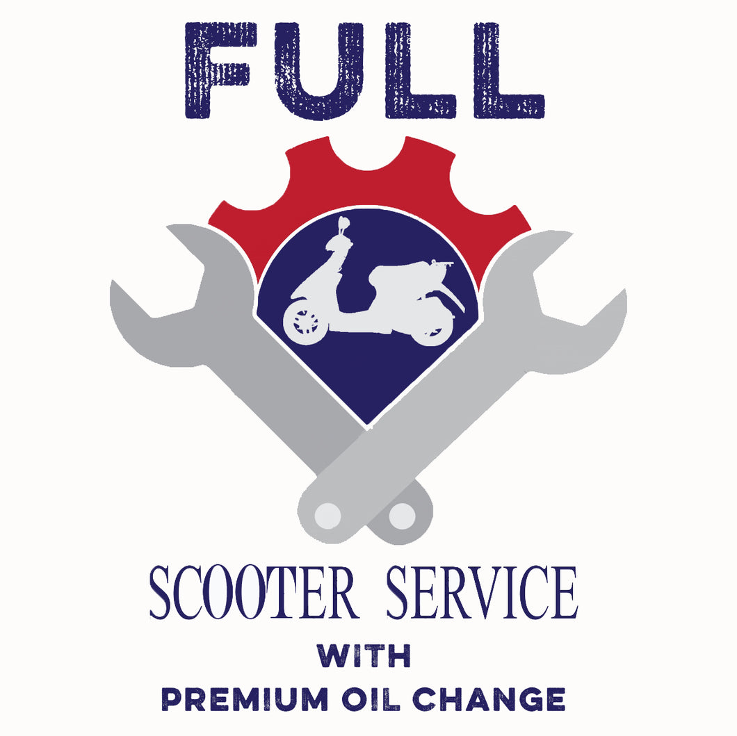 Full Service with Regular Oil Change*