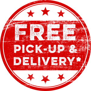 Free Pick Up & Delivery*