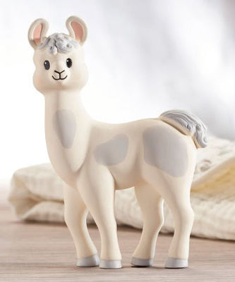 Lil' Llama Natural Rubber Figure