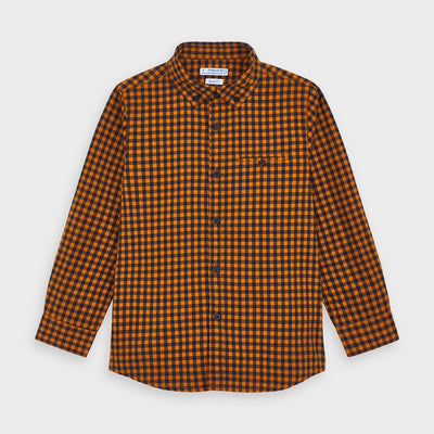 Orange Flannel Shirt