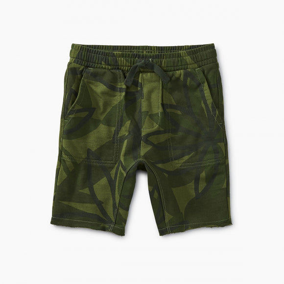 Knit Gym Shorts - Camo