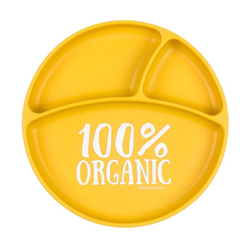 100% Organic Wonder Plate - Yellow