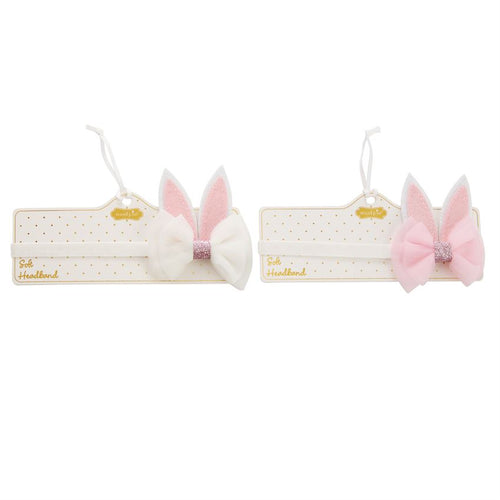 Bunny Ears Soft Headband