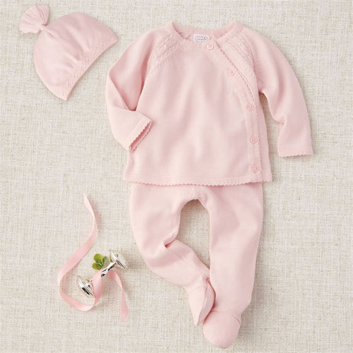 Pink Knit Take-Me-Home Set