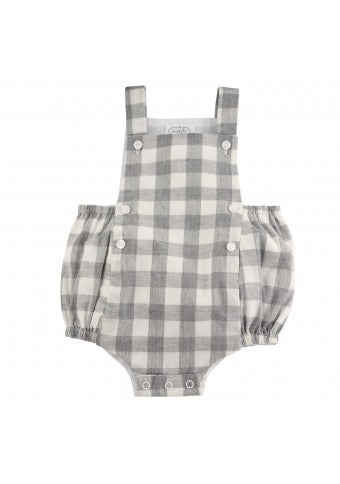 Grey Gingham Bubble