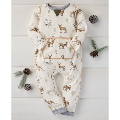 Forrest Printed Baby Bodysuit