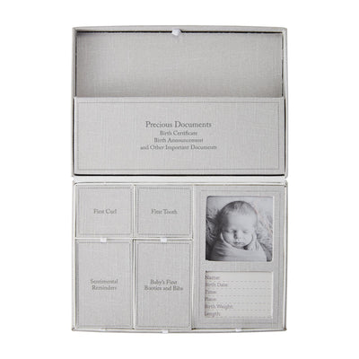 Baby Keepsake Photo Box