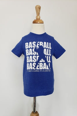 Royal Blue Baseball T-Shirt