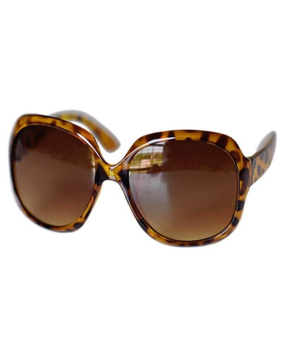 Oversized Sunglasses- Brown