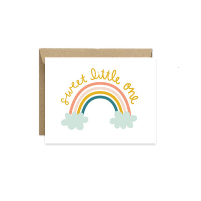 Greeting Card- Sweet Little One Baby Card