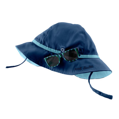 Navvy Sun Hat and Glasses