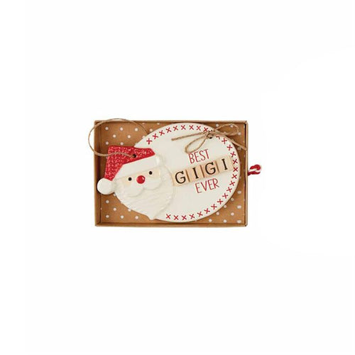 Gigi Ceramic Christmas Ornament