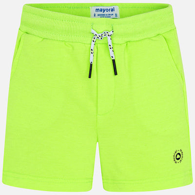 Neon Acido Fleece Shorts