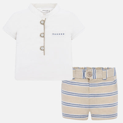 Baby Boy Shorts Set
