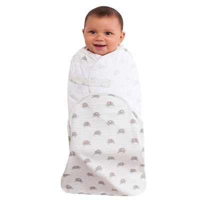 HALO® SwaddleSure® Adjustable Swaddling Pouch - Gray Elephant