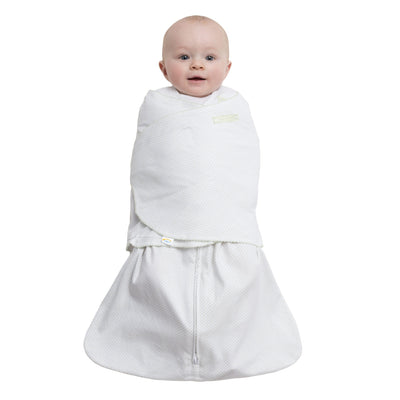 Halo Sage Pin Dot Cotton Sleepsack Swaddle