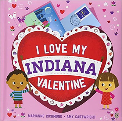 I Love My Indiana Valentine Book