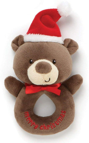 Bear Christmas Rattle