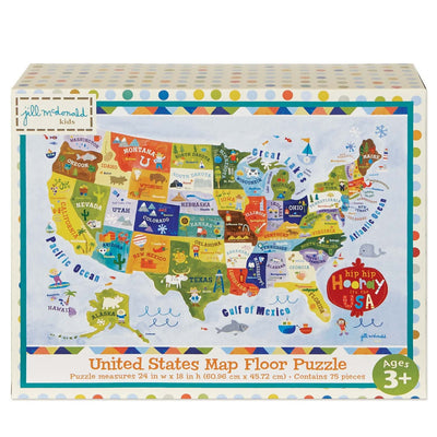 Hip Hip Hooray It's The USA Puzzle