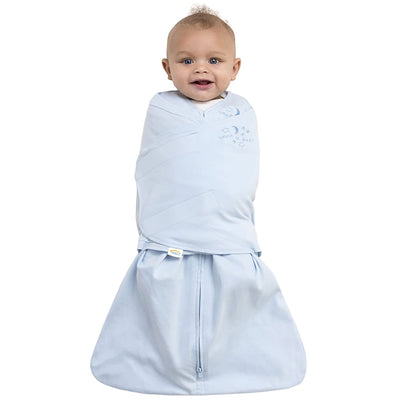 Halo Baby Blue Cotton Sleepsack Swaddle