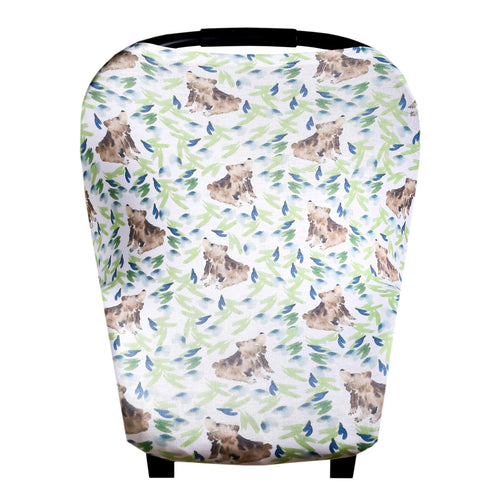 5-in-1 Multi-Use Cover - Bear
