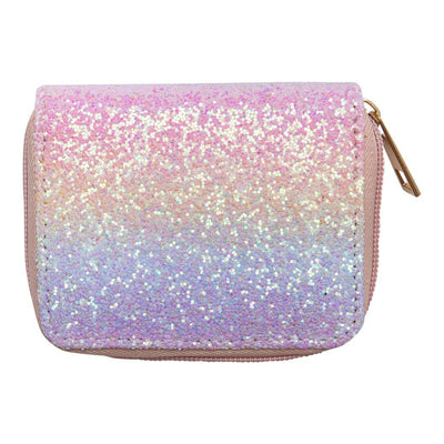 Mila and Rose Wallet- Unicorn Glitter