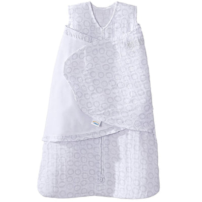 Halo Muslin Sleepsack Swaddle - Gray Open Circles