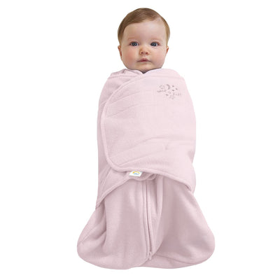 Halo Soft Pink Cotton Sleepsack Swaddle