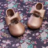 Mary Janes- Rose Gold