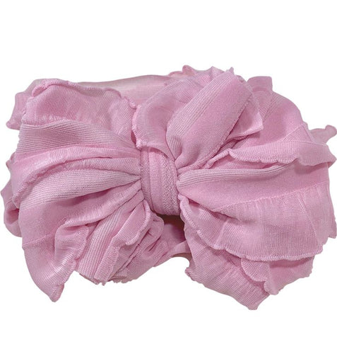 In Awe Couture Headband- Bubblegum Pink