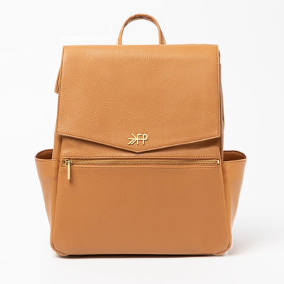 The Classic Diaper Bag - Cognac