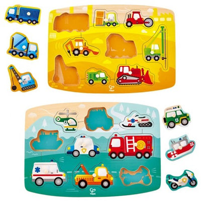 Assorted Peg Puzzles