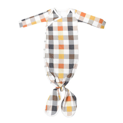 Harvest Newborn Knotted Gown