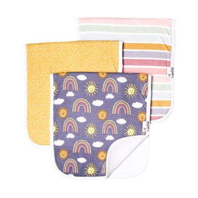 Set of Three Premium Burp Cloth - Hope