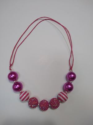 Candy Sparkle Bubble Necklace