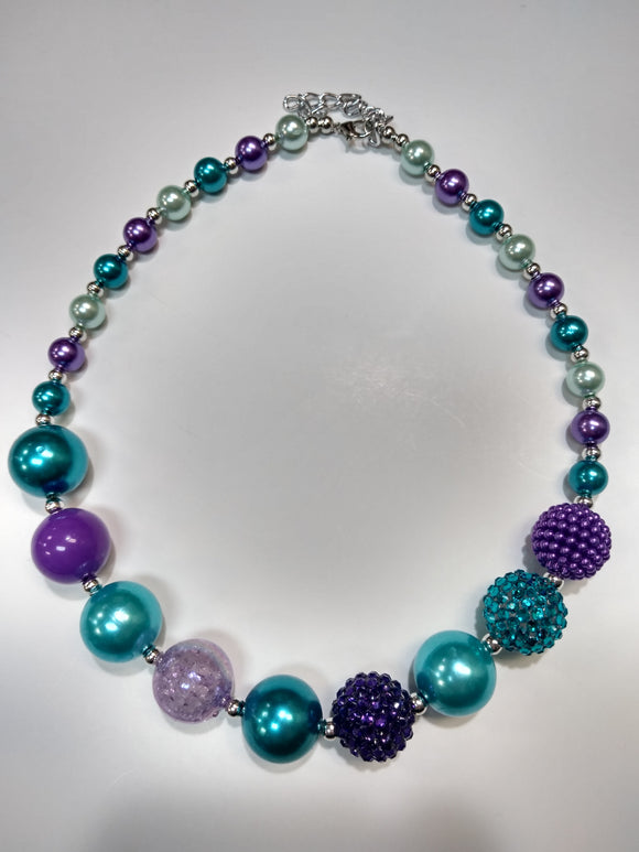 Ocean Sparkle Bubble Necklace