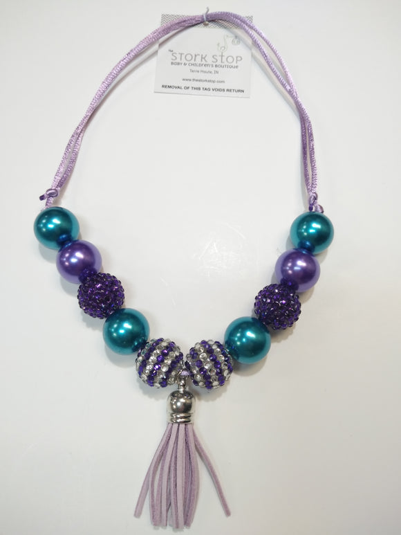 Mermaid Sparkle Bubble Necklace